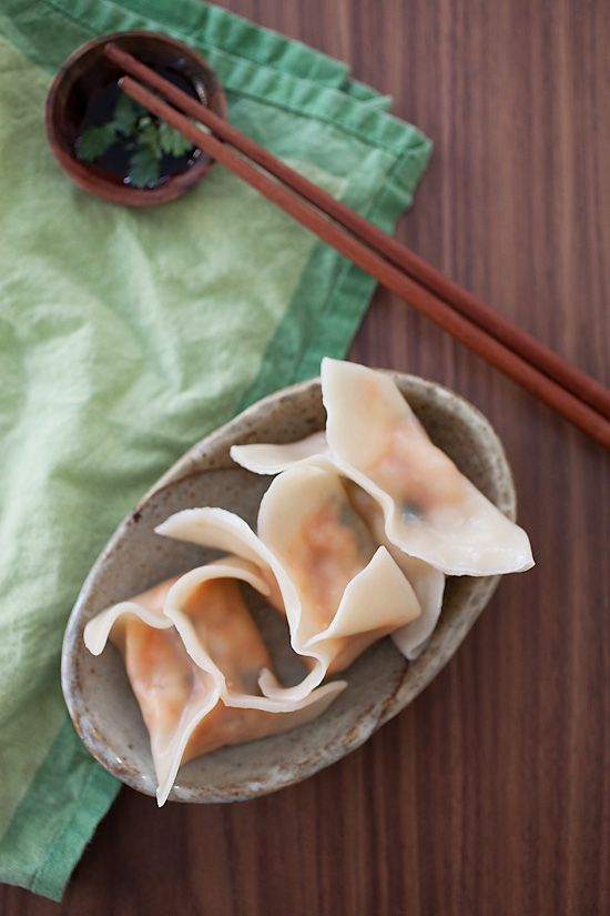 Red Curry Shrimp Dumplings, so yummy and easy to make! #shrimp # ...