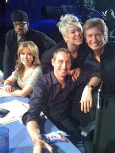 Choreographers & Judges (left to right) Lil' C, Mary Murphy, Mia Michaels, Adam Shankman, & Nigel Lythgoe