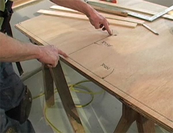 to draw a perfect ellipse with just two scraps of wood and a few nails