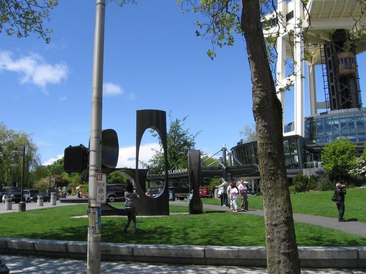 Seattle Sculpture Garden Outdoor Art Pinterest