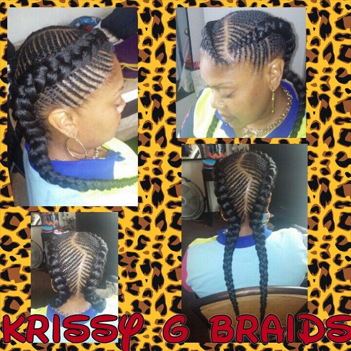 Iverson braids into a bun Braids Cute  My styles