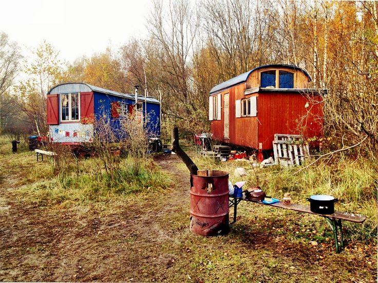 tiny-house-village  Gypsy Caravans  Pinterest