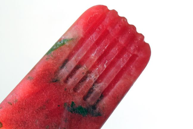 Watermelon Mint popsicles | Popsicles and other frozen treats! | Pint ...