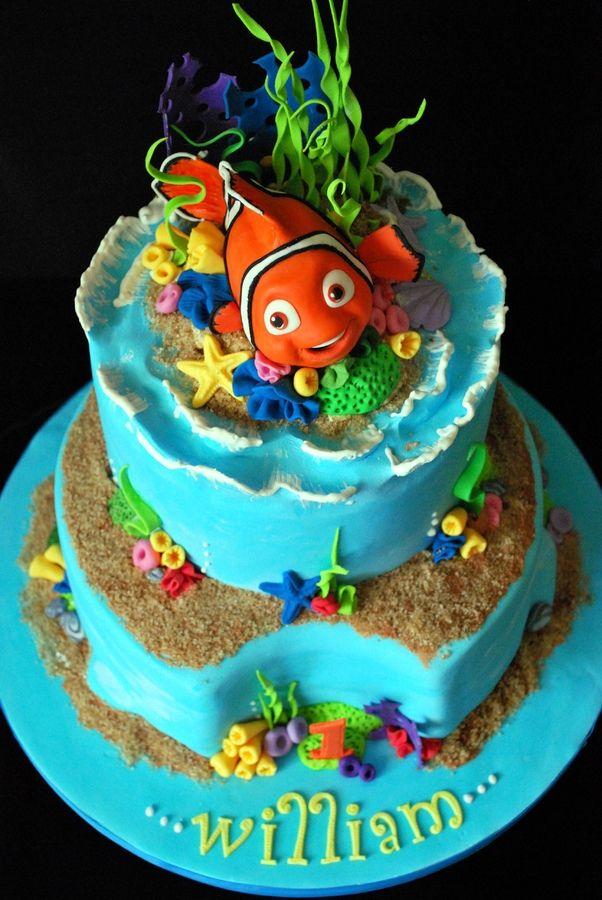 Cake Design Nemo : Nemo birthday cake Party Ideas Pinterest