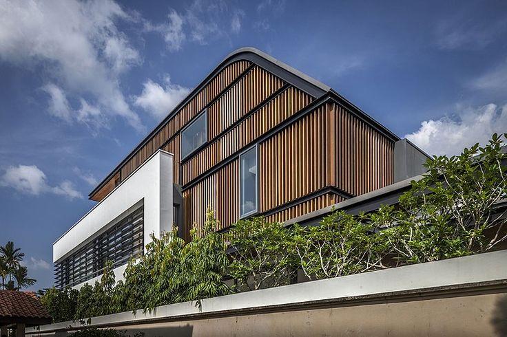Một góc nhìn khác về bề ngoài của ngôi nhà