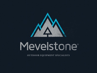 logo styling using a mountain and text branding pinterest