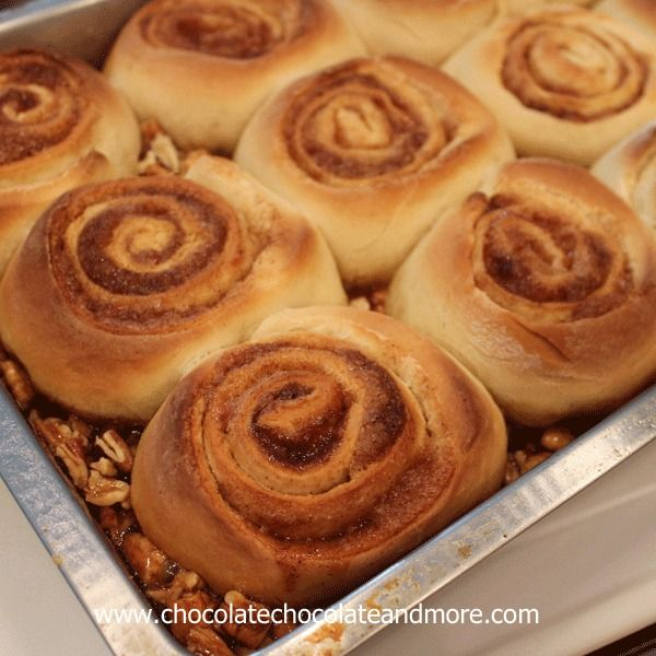 Caramel Pecan Sticky Buns, so easy to make and so good, you'll want to ...