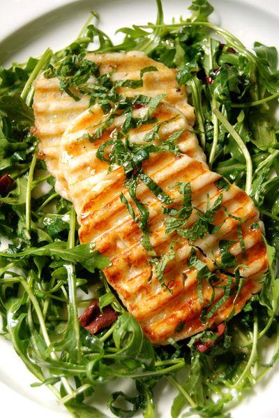 Grilled Halloumi & Quinoa Salad Recipes — Dishmaps