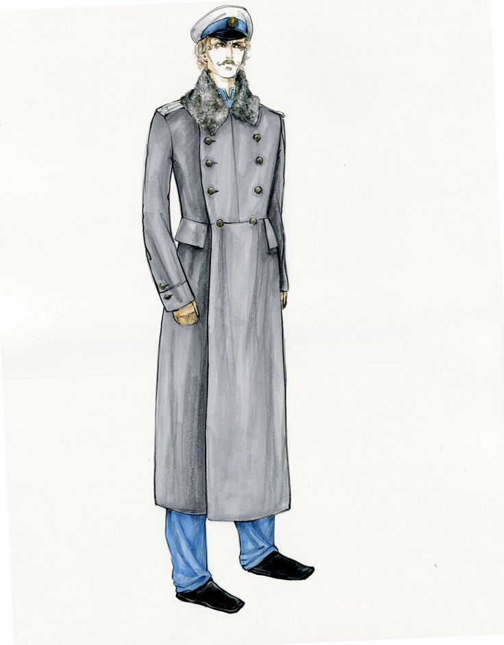 Эскиз костюма от Анны Карениной 2012