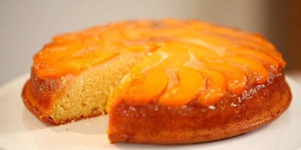 Peach Upside Down Cake | Sweets | Pinterest