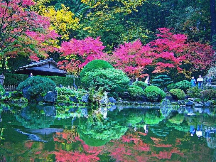 Portland Japanese Garden Oregon My Oregon Pinterest