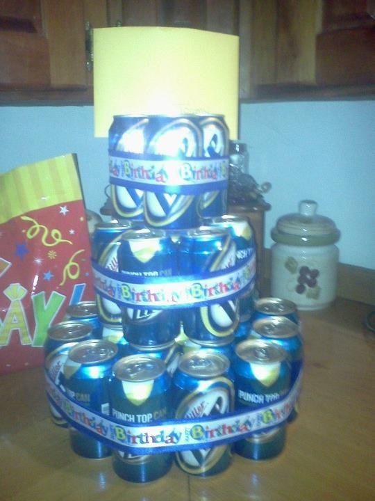 beer cake pinterest