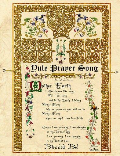 Yule prayer song | Cel...