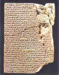 """WORLD'S OLDEST COOKBOOKS. (Circa 1,700 BCE) """"Among Yale University's collection of cuneiform tablets are three tablets, each containing a recipe collection—a total of 35 recipes. Composed in the middle of the Old Babylonian period, fhey are the world's oldest cookbooks. The tablets were deciphered and translated by Jean Bottéro and Teresa Lavender Fagan in The Oldest Cuisine in the World: Cooking in Mesopotamia (2004)."""" More at click-through."""