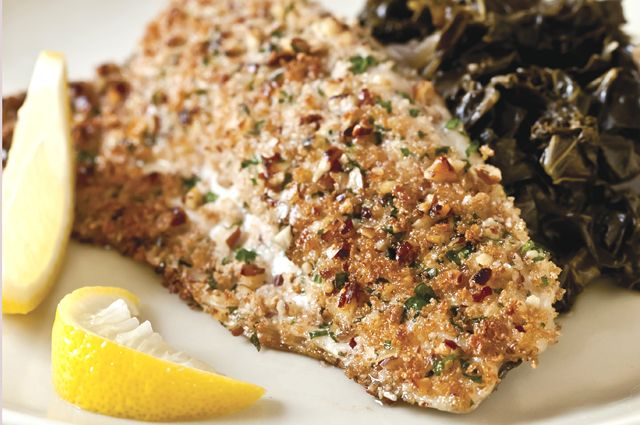 Pan-Seared Trout with Pecan Brown Butter | Recipe