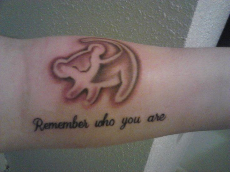 Remember who you are tattoos be courageous pinterest for Remember who you are tattoo