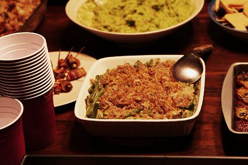 ... Green Bean Casserole — that's vegan and gluten free as well? - Eat