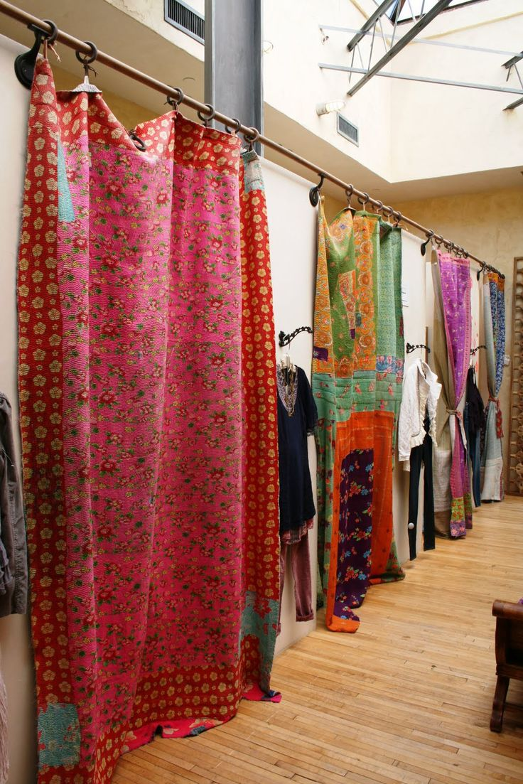 Free People fitting rooms