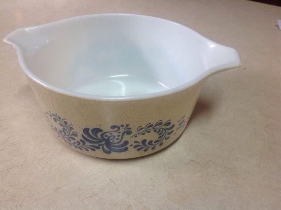 bake in pyrex bowl
