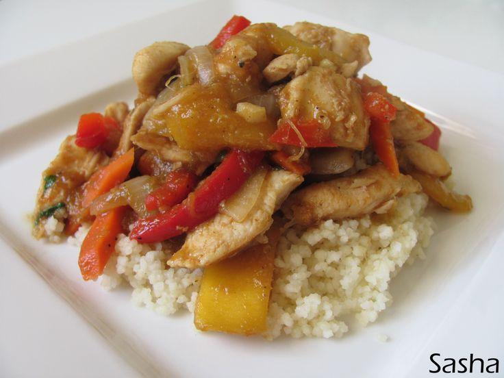 Malaysian Mango Chicken - Chez Sasha | Cooking | Pinterest