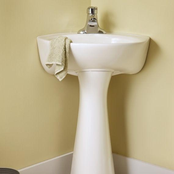 SKU: ASD7327 Part #: 0611 American Standard Pedestal Sink Set in ...