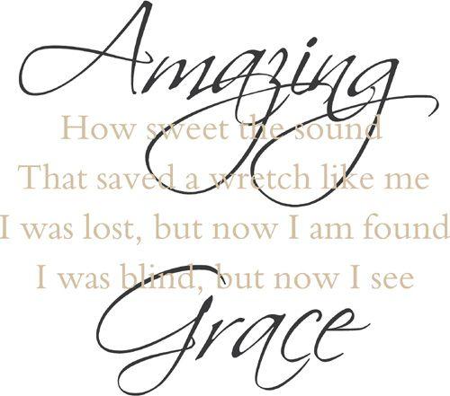Amazing Grace...I miss you, Mommy!!