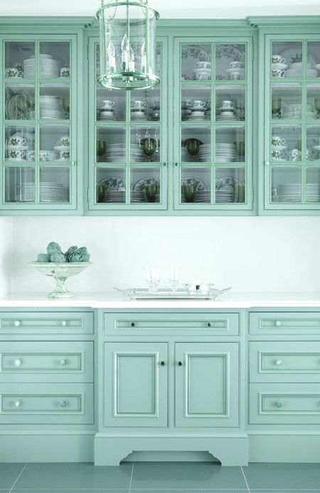 aqua kitchen cabinets kitchens pinterest