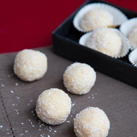 Ferrero Raffaello Candy Recipe- quick and easy no baking required.