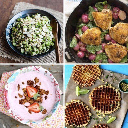 Honey-Lemon Roasted Chicken Thighs & Spring Asparagus Quinoa Salad ...
