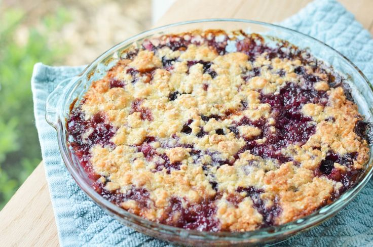 Peach Blueberry Crumble | Sweet | Pinterest