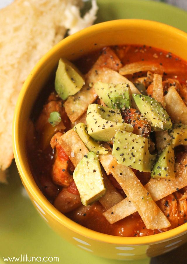 Delicious and Hearty Fajita Chicken Chili recipe - a must-try soup ...