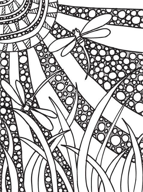 Abstract Doodle Coloring Pages : Abstract doodles print to color coloring pages pinterest