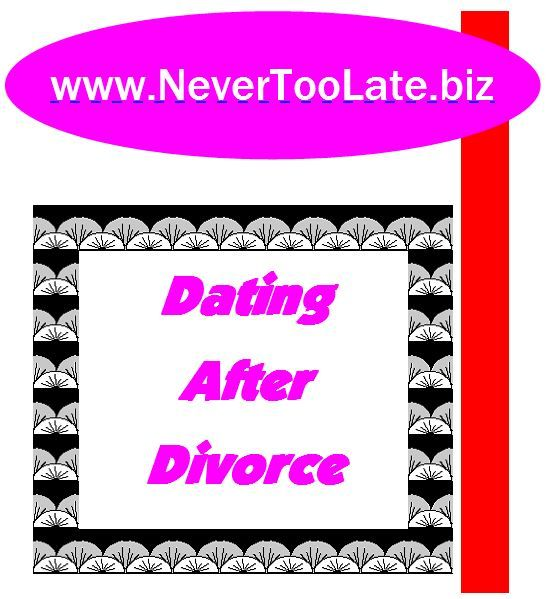 Dating too soon after divorce