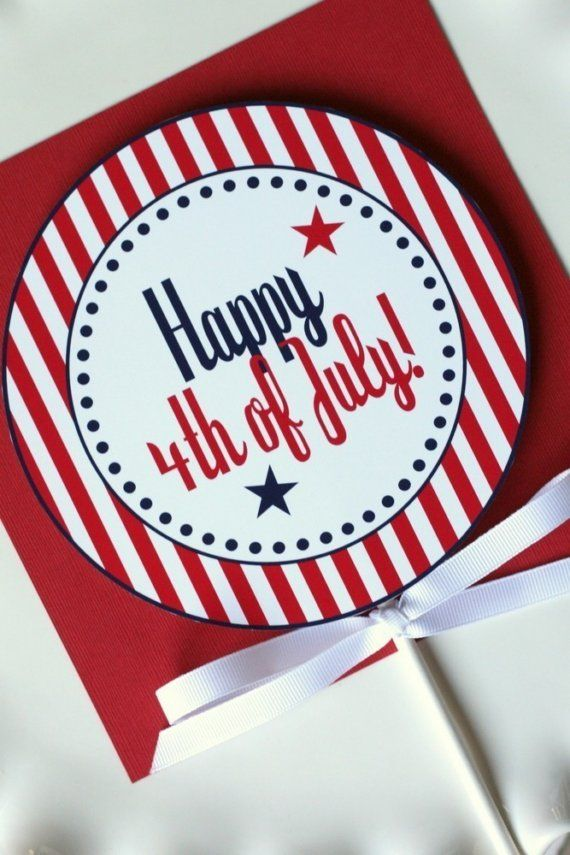 4th of July Printable Design