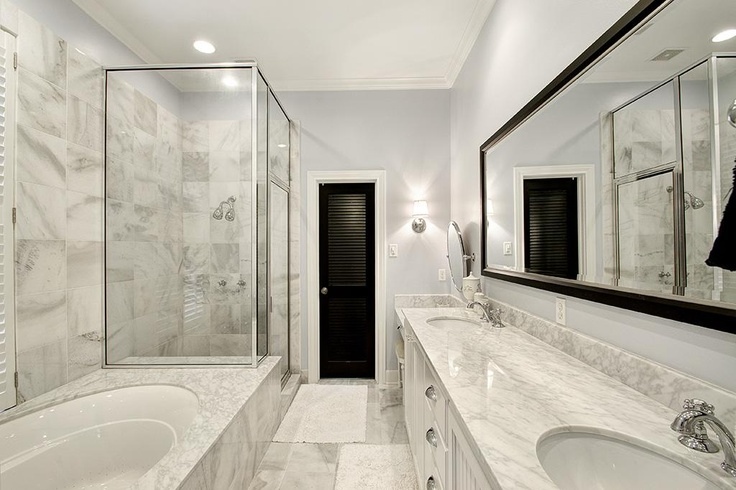 updated master bath interior pinterest