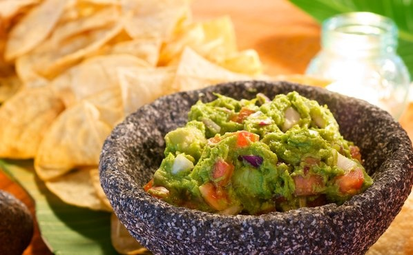 Chips and guacamole | Snack | Pinterest