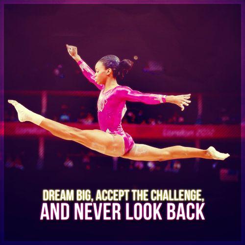 inspirational gymnastics quotes gabby douglas quotesgram