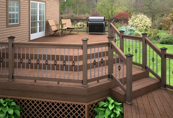Simple deck designs google search in the garden for Ideas for decks designs