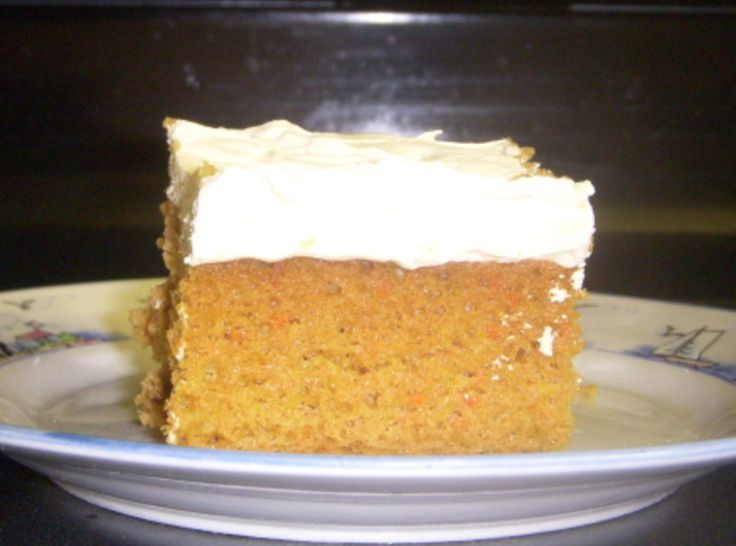 Pumpkin Spice Cake with Maple Frosting | Favorite Recipes | Pinterest