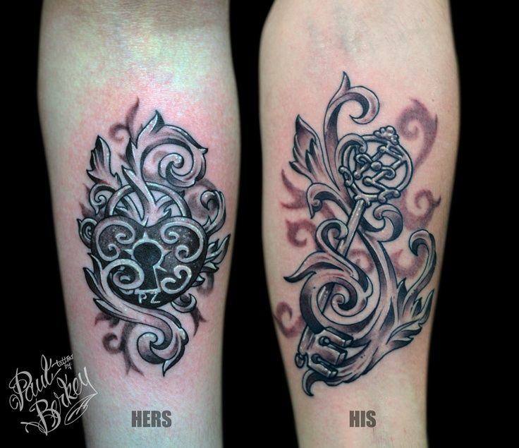 His and hers | TATTOOS =] | Pinterest