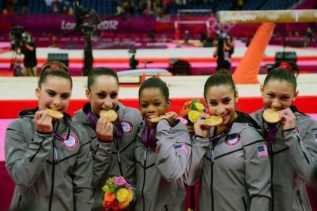 Congratulations to Team USA women's gymnastics!