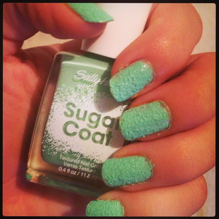 Sugar coat nail polish