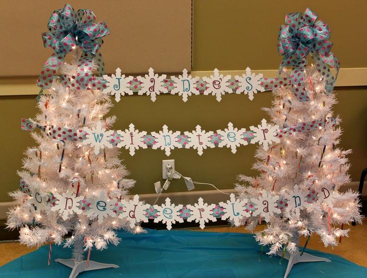 Winter one derland decorations lillee kay s 1st birthday pinterest