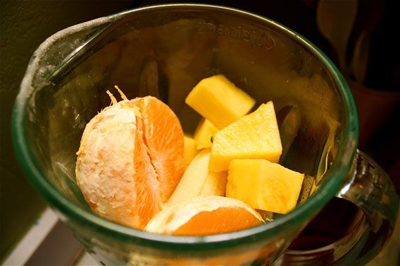 Pineapple, Orange and Banana Smoothie | Gimme Some Oven Freeze the ...