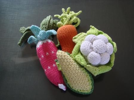 Crochet Patterns Vegetables Free : vegetables Crochet Amigurumi & Toys Pinterest