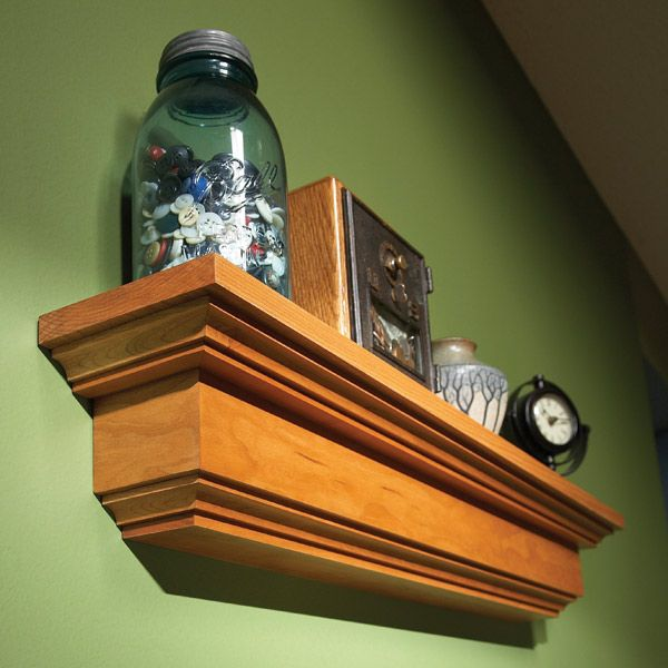 How to Build a Wall Shelf...http://www.familyhandyman.com/DIY-Projects/Woodworking/Woodworking-Projects/how-to-build-a-wall-shelf/Step-By-Step