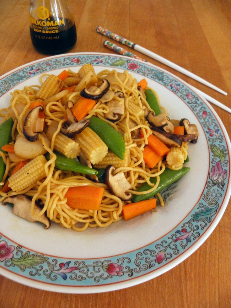 Cinnamon Freud: Vegetable Lo Mein | We all need to eat! | Pinterest