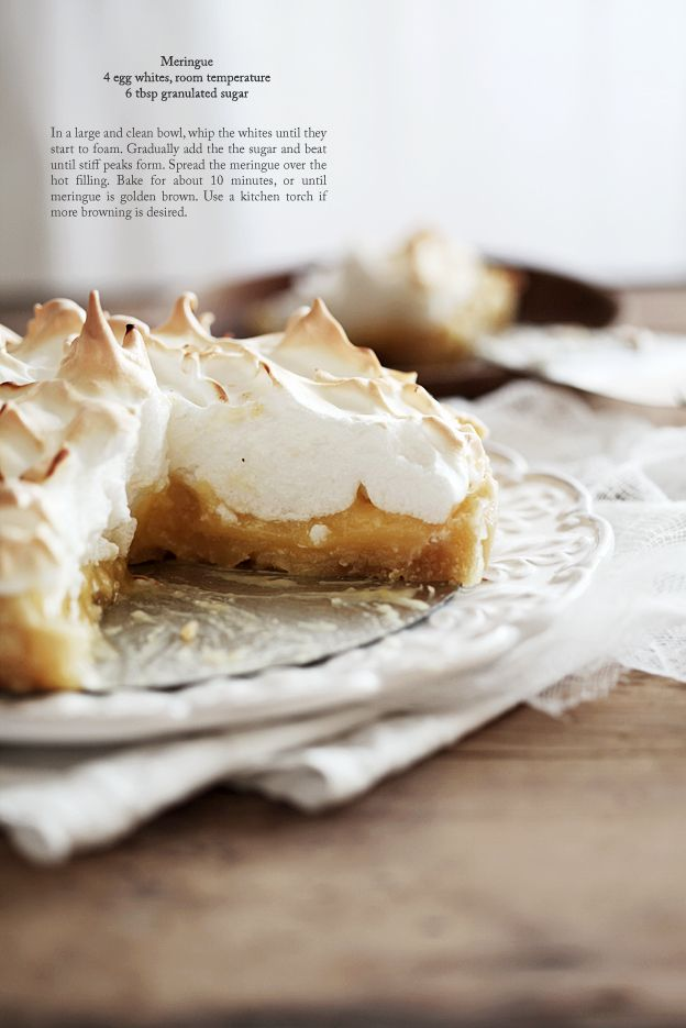 haven't ever tried Lemon meringue pie but this one will be the first