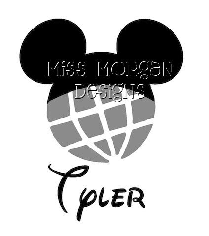 Disney Epcot Silhouette Disney Epcot Silhouette