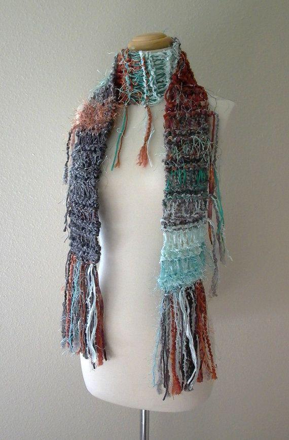 bohemian knit scarf knit knacks